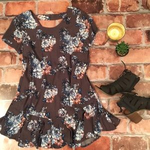 Altar'd State Floral Shift Dress Small